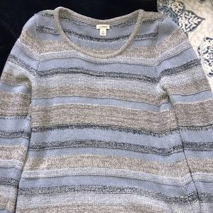 Stripped LL bean sweater